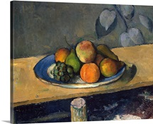 Apples, Pears and Grapes, c.1879 (oil on canvas)
