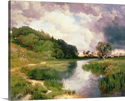 Approaching Storm, Amagansett, 1884
