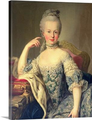 Archduchess Marie Antoinette Habsburg-Lotharingen (1755-93) 1767-68