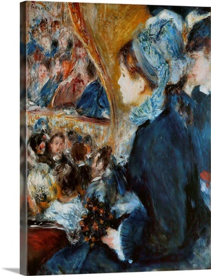 At the Theatre, 1876-7