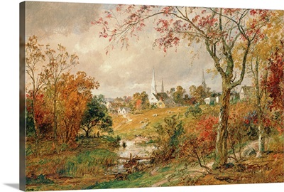 Autumn Landscape, Saugerties, 1886
