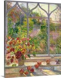 Autumn Windows, 1993 (oil on canvas)