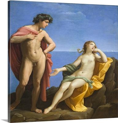 Bacchus and Ariadne, 1619-1620