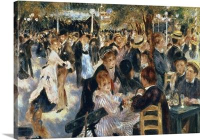 Ball At The Moulin De La Galette, 1876