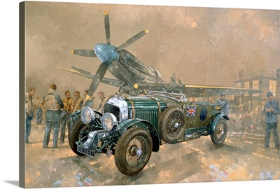 Bentley and Spitfire