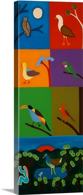 Birds that Visit the Valley of Bogota, 2008