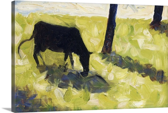 Black Cow in a Meadow, 1881 Wall Art, Canvas Prints, Framed Prints ...