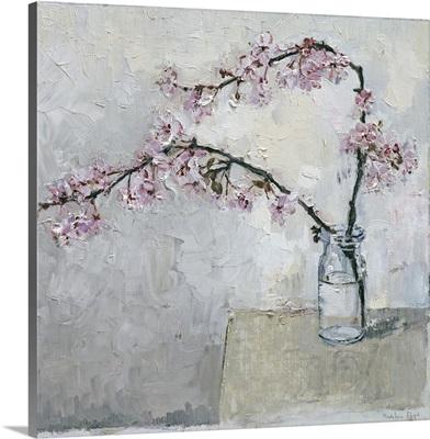 Blossom In Glass Vase