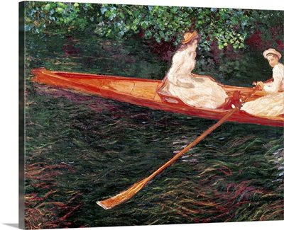 Boating on the river Epte, c.1889 1890