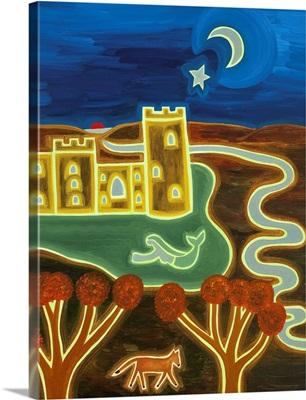 Bodiam Castle by Moonlight, 2010