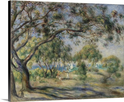 Bois De La Chaise (Noirmoutier) 1892