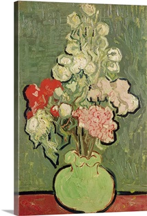 Bouquet of flowers, 1890 (oil on canvas)