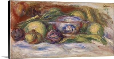 Bowl, Figs, And Apples, 1916