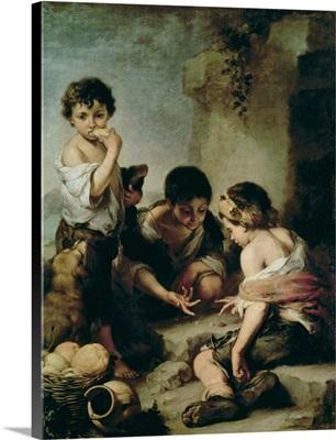 Boys Playing Dice, c.1670-75