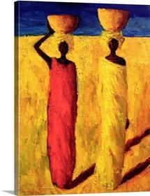 Calabash Girls, 1991 (oil on canvas)