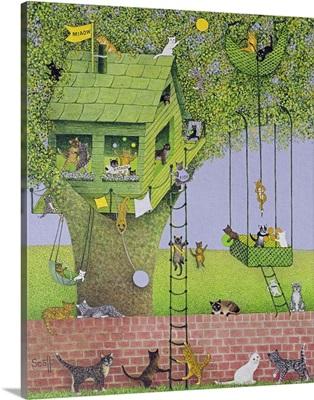 Cat Tree House,