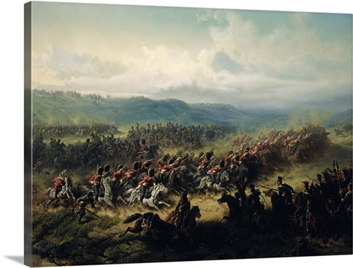 Charge of the Light Brigade, 25th October 1854 Wall Art, Canvas ...