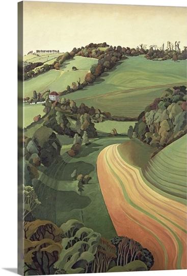 Chilcombe Bottom, Bath (oil on canvas)