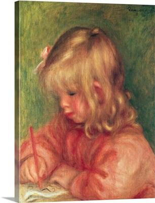 Child Drawing, 1905
