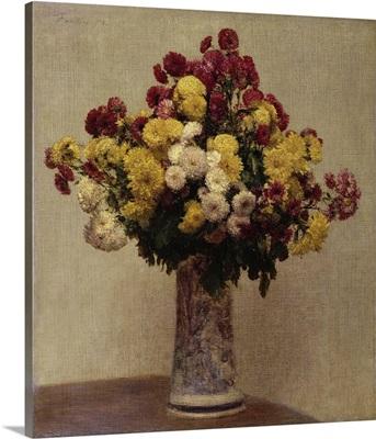 Chrysanthemums In A Vase, 1873