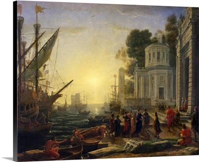 Cleopatra Disembarking at Tarsus, 1642