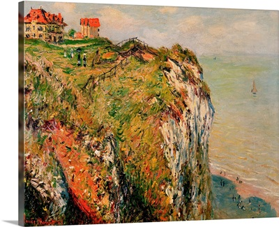 Cliff at Dieppe, 1882