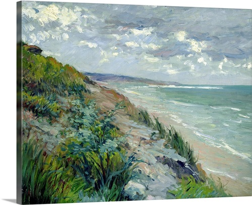 Cliffs By The Sea At Trouville Wall Art Canvas Prints Framed Prints Wall Peels Great Big Canvas