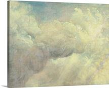 Cloud Study, c.1821 (oil on canvas)