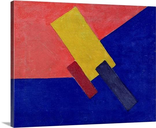 Composition, 1918 (oil on canvas)