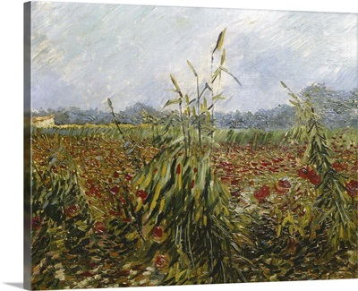 Corn Fields and Poppies, 1888