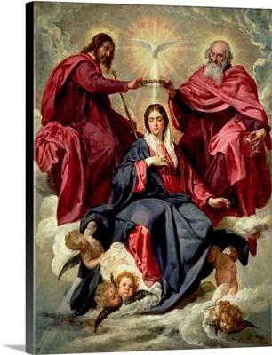 Coronation of the Virgin, c.1641-42