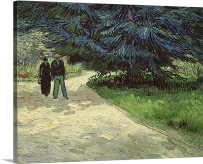 Couple in the Park, Arles, 1888