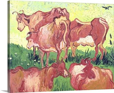 Cows, 1890