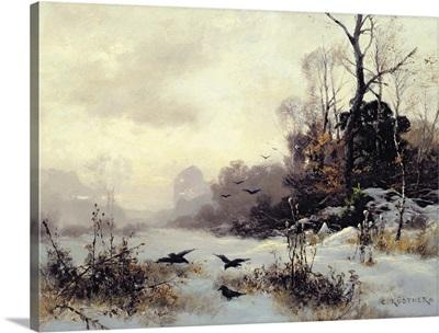 Crows in a Winter Landscape, 1907