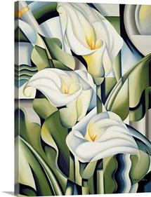 Cubist Lilies