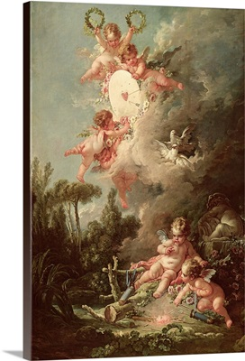 Cupid's Target, from 'Les Amours des Dieux', 1758