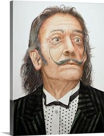 Dali (1904-89) (w/c on watercolour board)