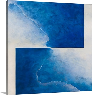 Damascene Moment: Blue and White, 2010 (oil on canvas)
