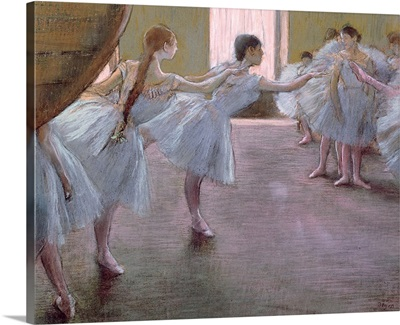 Dancers at Rehearsal, , 1875 1877
