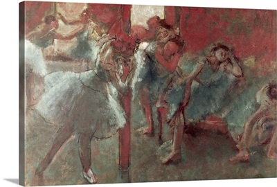 Dancers at Rehearsal, 1895 98