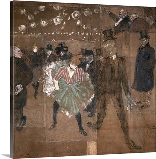 Dancing at the Moulin Rouge: La Goulue (1870 1927)