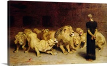 Daniel in the Lions' Den, 1872