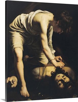 David Victorious over Goliath, c.1600