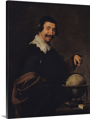 Democritus, or The Man with a Globe
