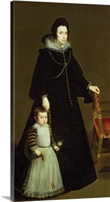 Dona Antonia de Ipenarrieta y Galdos (1599-1635) and her Son, c.1631