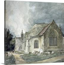East Bergholt Church, c.1805 11 (watercolour)