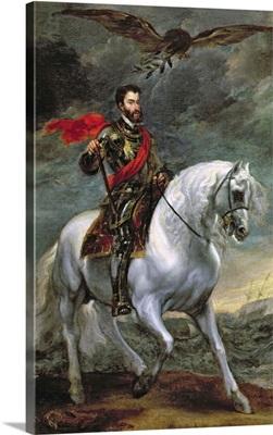 Emperor Charles V (1500-58) on Horseback, 1620