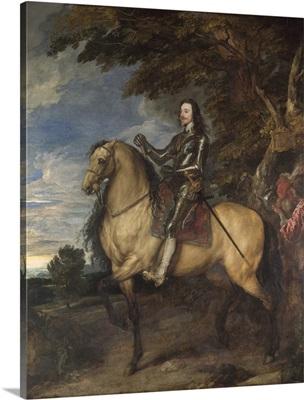 Equestrian Portrait of Charles I, c. 1637-8