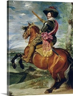 Equestrian Portrait of Don Gaspar de Guzman Count-Duke of Olivares, 1634