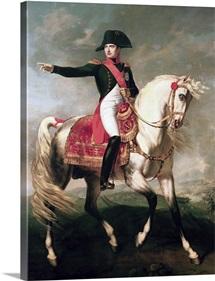 Equestrian Portrait of Napoleon I (1769 1821) 1810 (oil on canvas)